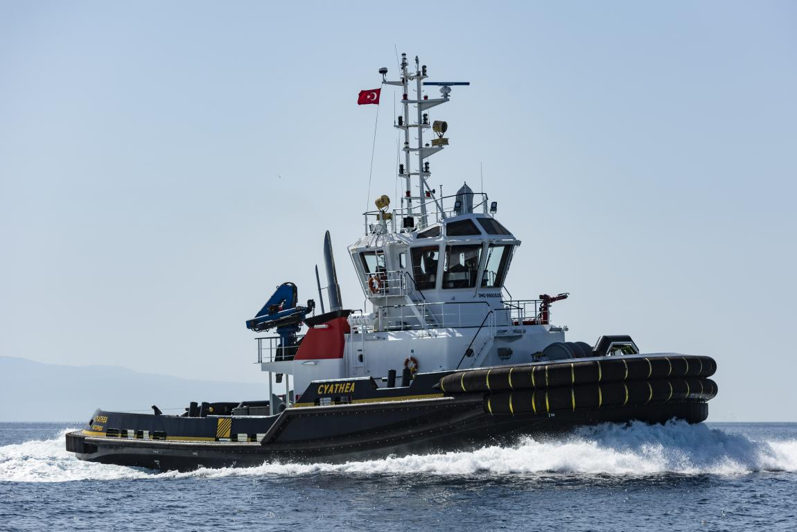 "M/TUG ""CYATHEA"" (NB 28) DELIVERED"